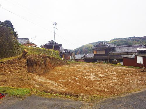 解体後の家屋
